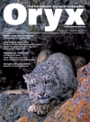 Our Cotton Bud Project features in Oryx Conservation News